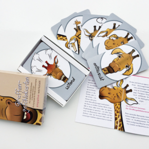 Giraffengefühlekarten