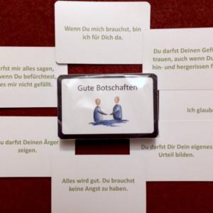 Gute Botschaften – Kartenset für Training, Therapie und die Arbeit mit Kindern