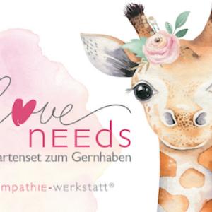 Bedürfniskarten-Set «Love Needs»